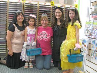 Tiaras and princesses